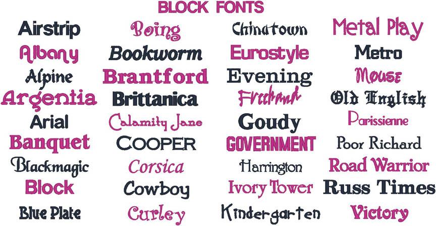 Fonts   Signet Monogramming