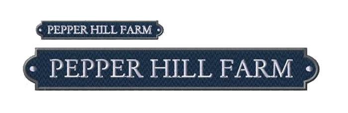 Pepper Hill Farm Signet Monogramming